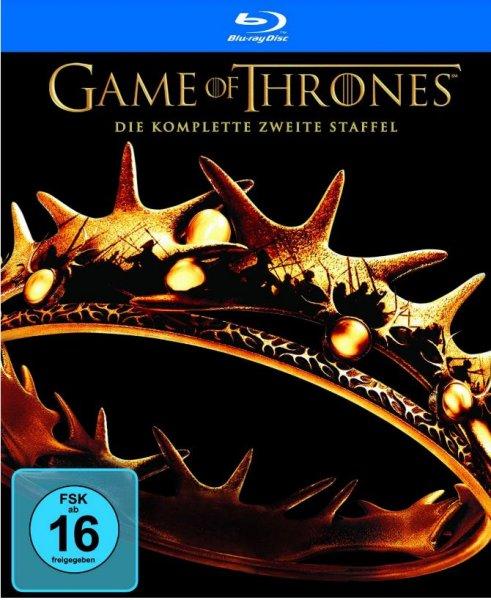 [Amazon] Game of Thrones - Die komplette zweite Staffel [Blu-ray]  +GoT Sammelsorium