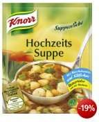 [Amazon] Knorr Suppenliebe Hochzeits Suppe, 16er Pack (16 x 750 ml) EUR 7,84