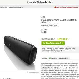 JBL Soundbar Cinema SB200