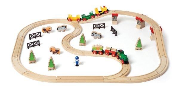 BRIO Country Railway Set 33188 - 50-teiliges Set versandkostenfrei für 39,99€  bei @galeria kaufhof