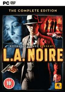 [Steam] L.A. Noire: The Complete Edition @ Game.co.uk