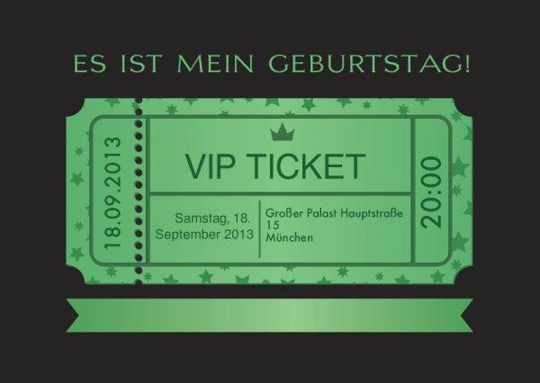 -50% auf Geburtstags- u. Kindergeburtstagseinladungskarten, ab 0,45€/Karte inkl. Versand @hochzeitsplaza.de