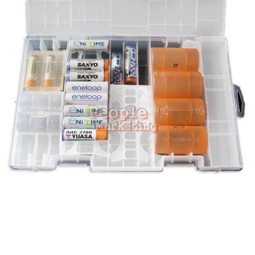 [ebay] Akkubox / Batteriebox für 30 - 40 unterschiedliche Akkus für 6,08€