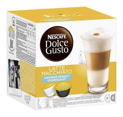 5 x Dolce Gusto Latte Macchiato ungesüsst bei Lebensmittel.de für 12,35 Euro