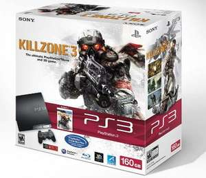 PS3 320GB Slim Killzone 3 Bundle für ca. 281 Euro
