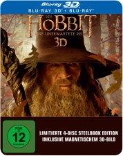 [Media Markt Online] 3D Bluray Der Hobbit - Eine unerwartete Reise Steelbook Edition | VSK-frei für 14 €