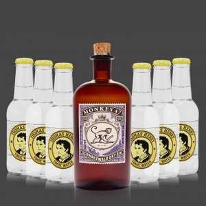 Monkey 47 Gin + 6 x Thomas Henry Tonic Adventsspecial. 5,- € Discount.