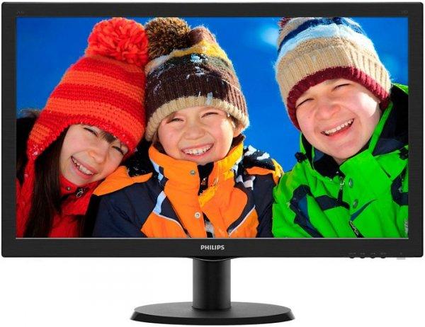 "Philips V-Line 243V5LHAB für 124,89€- 23,6"" LED Monitor"