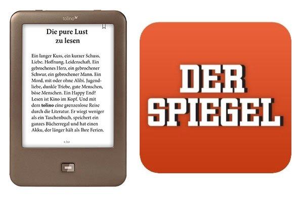 """Tolino Shine + ½ Jahr """"Der Spiegel"""""""