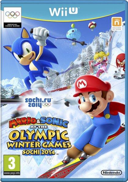 Nintendo Wii U - Mario & Sonic bei den Olympischen Winterspielen: Sotschi 2014 für €30,87 [@Shopto.net]