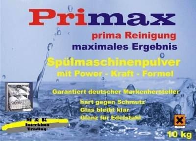 10 kg Spülmaschinenpulver 17.50€ (24.40) VK frei ab 30€ 7 in 1 oder All in One @interkima