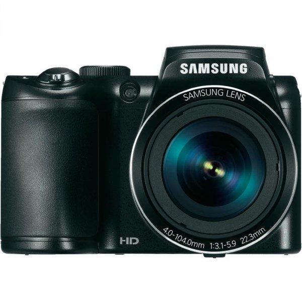 Samsung EC-WB110 Super Zoom Kamera, 20,2 Megapixel, 26x opt. Zoom, (3 Zoll) Display, schwarz für 119€ @Conrad