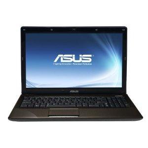 Asus X52JT-SX102V 39,6 cm (15,6 Zoll) Notebook (Intel Core i5 460M, 2,5GHz, 4GB RAM, 500GB HDD, ATI HD 6370, DVD, Win7 HP) braun für 444,00 Euro bei amazon