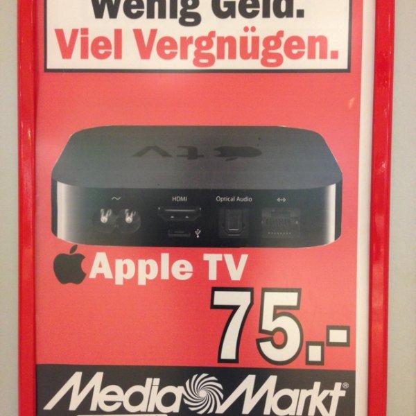 AppleTV 3 im MediaMarkt Saarbrücken