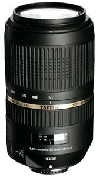 Tamron SP AF 70-300mm f4.0-5.6 Di VC USD Objektiv [Nikon/Canon/Sony] für je 248,63 € @Amazon.fr