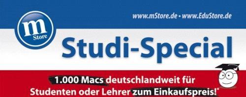 1000 Macs zum Einkaufspreis bei mStore