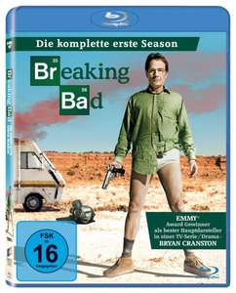 Breaking Bad - Staffel 1 + 2 [Blu-ray] für 23€ @Amazon.de