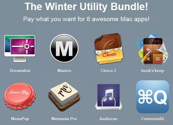 (MAC) Das Winter Utility Bundle von Paddle mit bis zu 8 Apps zum selbst bestimmten Preis