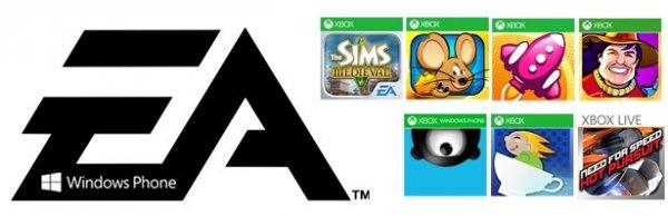 7 EA-Apps für Windows Phone reduziert