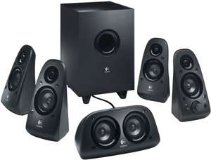 [Media Markt Online] LOGITECH Z506 5.1 Surround Sound Speaker System Black | VSK-frei 55€