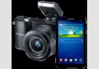 [Saturn online]  SAMSUNG NX 1100 & SAMSUNG Galaxy Tab 3 7.0