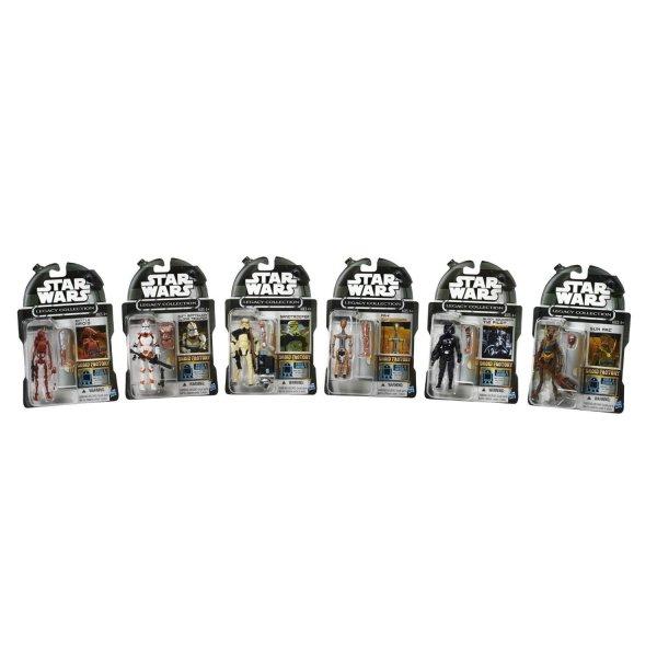 "[amazon.com] Star Wars Actionfiguren (3 3/4 Inch, Hasbro) 6-Pack exklusiv @amazon.com ""Legacy Collection Droid Factory"" zum Spottpreis ---> 75% billiger + Bonusfigur"