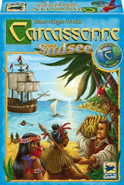 Schmidt-Spiele Carcassonne Südsee 7,99€ (Neukunden für 5,99€) zzgl..3,50€ Versand (Ab 20€ frei -> 2x für 18€) - Idealo 14,95€