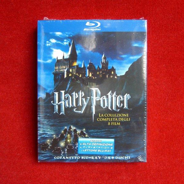 Harry Potter 1 - 7.2 Blu-ray (italienische Box) für nur 31,27 Euro inkl. Versand bei Amazon.es