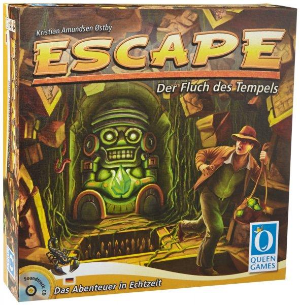 Escape - Der Fluch des Tempels - kooperatives Gesellschaftsspiel, 21,99€ [Amazon-Adventskalender]