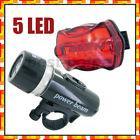 LED Fahrradlampenset (vorne und hinten) für ~1,71€ @ ebay.com