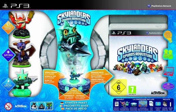 [expert Mediapark Steinfurt] Skylanders: Spyro's Adventure - Starter Pack inkl. 3 Figuren(Xbox360 u. PS3) für 20 € (Offline)