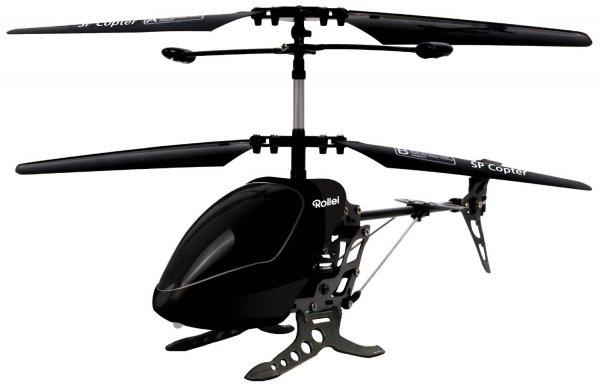 Rollei SP Copter schwarz / Hubschrauber fürs IPhone & Co.
