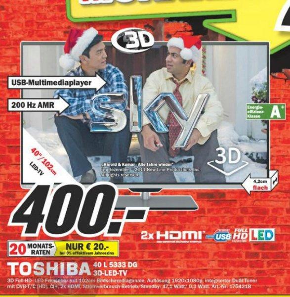 Toshiba 40L5333DG 400€ Lokal [MM Hückelhoven,Herzogenrath]