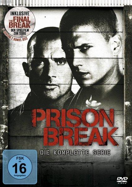 [DVD] Prison Break – Die komplette Serie @ Saturn.de ab 29,00 EUR