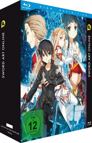 Sword Art Online Volume 1 Bluray Limited Edition (auf 3000 Exemplare limitiert) bei Buch.de