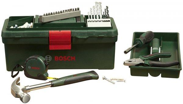 Bosch Werkzeugkoffer mit Zubehör (63-tlg.) für 19,99€ @ Otto