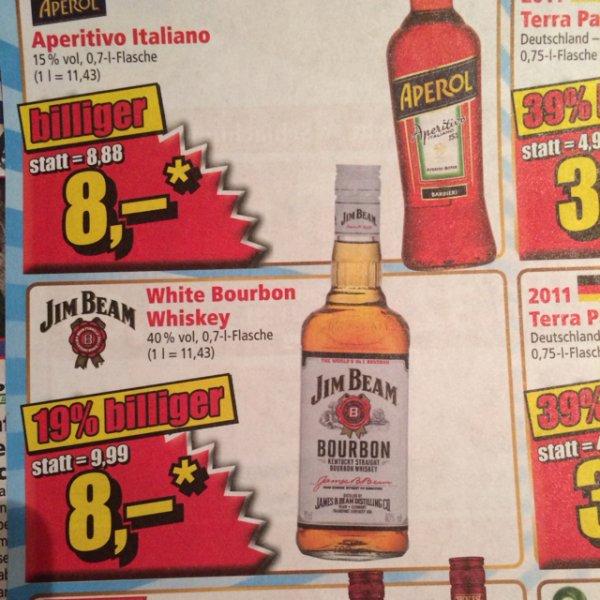 [lokal Ulm] NORMA Jim Beam Bourbon für 8€