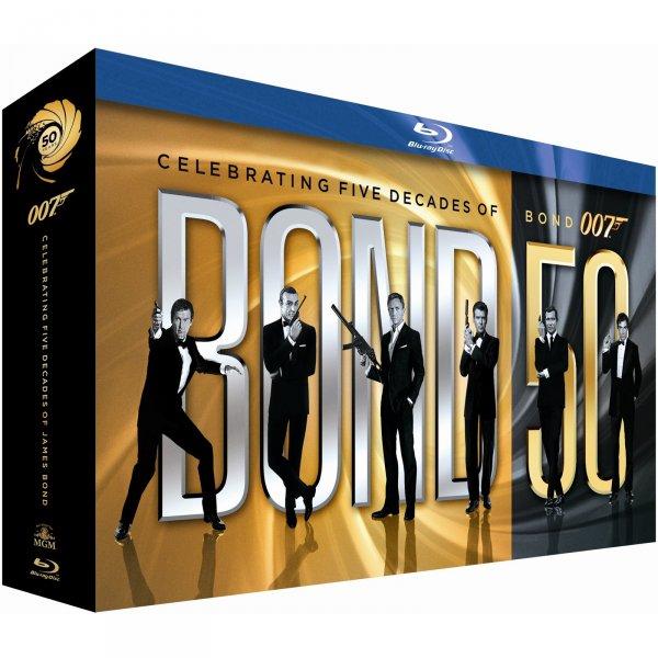 James Bond Jubiläums Collection inkl Skyfall