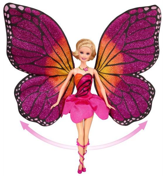 Mattel Puppe Y6372 Barbie Mariposa Schmetterlingsfee oder W4469 Zauberhafte Blumenfee + Buch zum Film: Mariposa und die Feenprinzessin € 20,98 (inkl. Versand) @ amazon.de