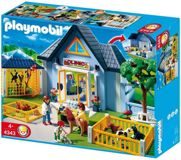 Playmobil™ - Tierklinik mit Gehegen (4343) ab €20,60 [@Galeria-Kaufhof.de]
