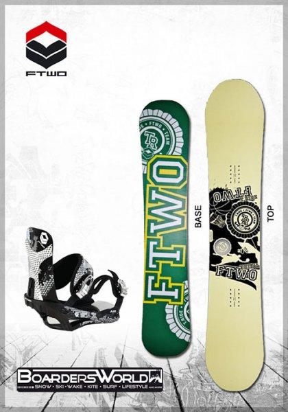 FTWO(F2) Snowboard mit Bindung für 149,- & 200,- mit Boots bei Watercolors
