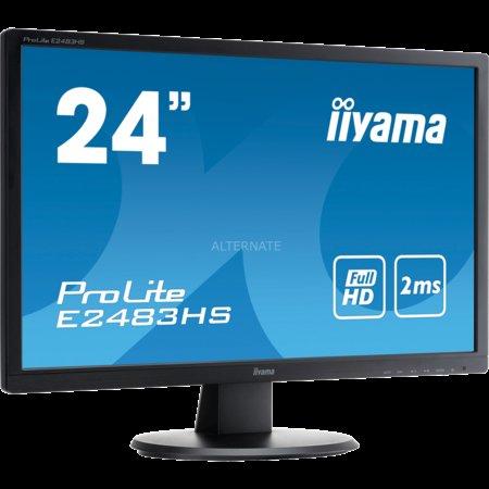 """Iiyama LED-Monitor 24"""" ProLite E2483HS-B1 für 99,-"""