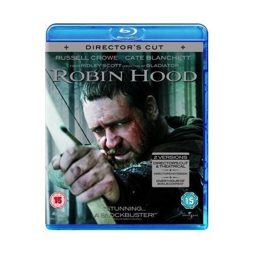 Blu-ray - Robin Hood (Extended Director's Cut / 2 Discs) für €6,15 [@Play.com]