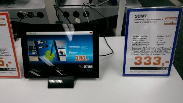 [Lokal] SONY Xperia Tablet S mit 3G im Saturn Hohe Str. Köln
