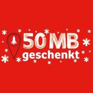 Vodafone Bestandskunden: Vodafone-Shop besuchen & 50 MB Internet mitnehmen