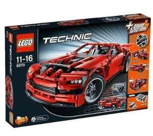 Lego Technic Super Car (8070) für 83,33€  @ Null.de