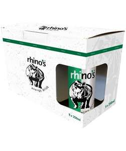 [Lokal?] rhino's Enegry Drink 8er Pack 0,25l 4,99€ zzgl. 2€ Pfand bei Rewe !