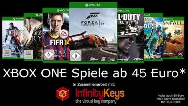 Xbox Store Guthaben: 50,40 Euro für 35,99 Euro oder auch Xbox One Spiele auf dem Marktplat ab effektiv ca 45 Euro - WIEDER VERFÜGBAR!!!
