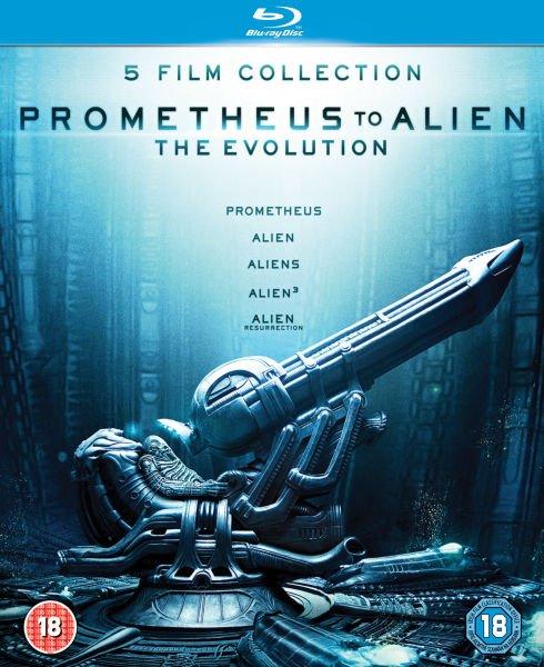 Zavvi: Prometheus to Alien: The Evolution Box Set (UK) [Blu-ray] für 18,69€
