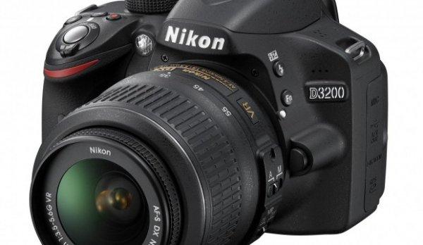 NIKON D3200 + 18-55 und 55-200 DX II Objektiv für 444,-
